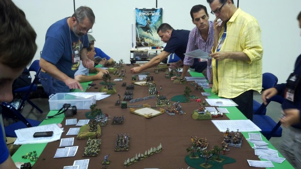 Kings of War is quick to learn, an ideal wargame for new players and veterans alike.