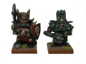 Khaos Dwarf Painted Scheme 1 and 2