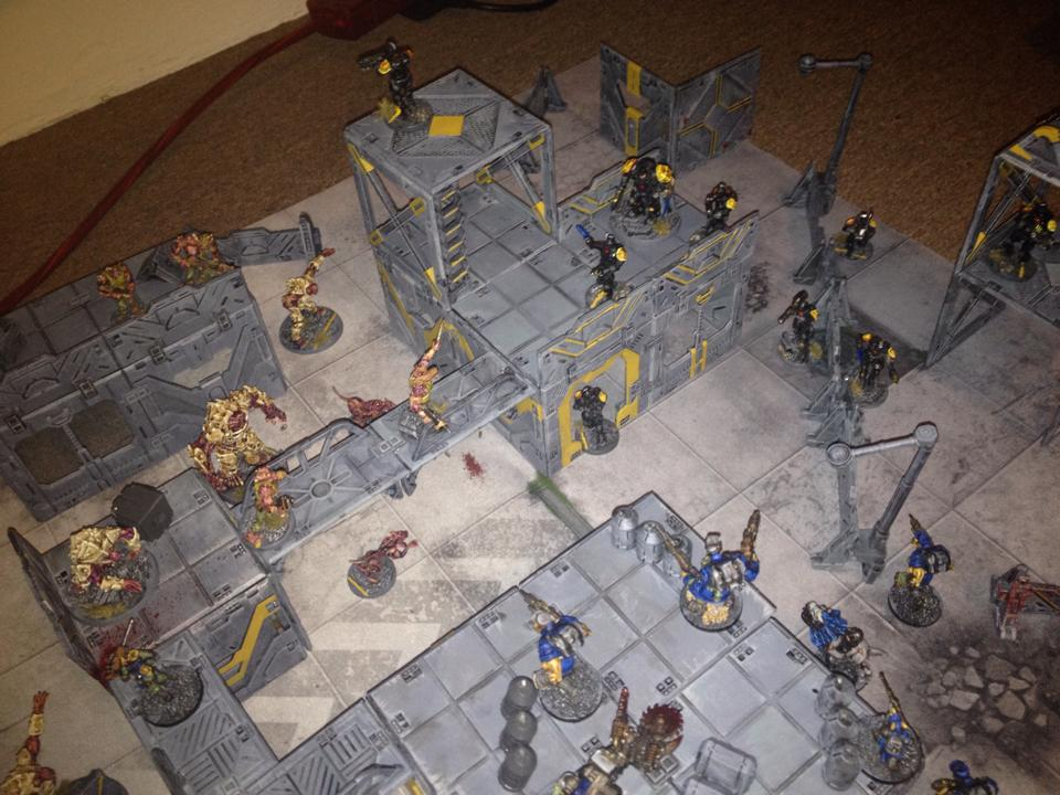 Pathfinder Leon sent us this image of a game in progress - looks ace!