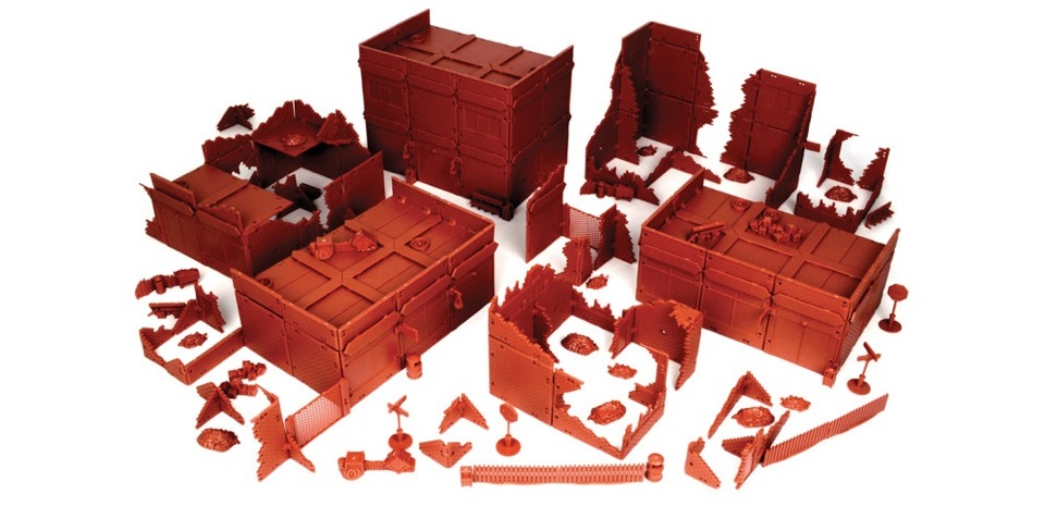MGTRB07-Mega Bundle Red Brick Terrain
