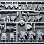 Mantic Games Dwarf Ironclad Command Sprue