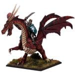 Mantic Games Elf Lord on Battle Dragon