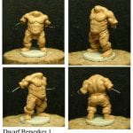 Mantic Games WIP Berserker