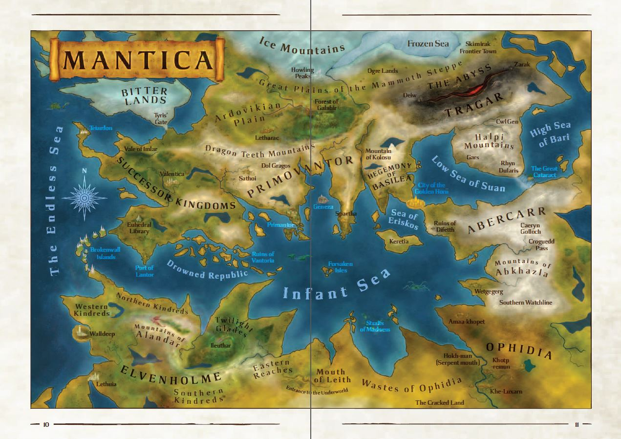 Mantica map