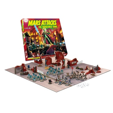 Mars attacks ready to play