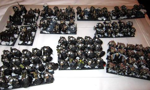 Neil's Dwarves arrayed for battle.