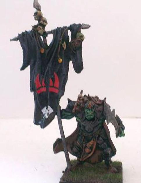 Flaggers are really useful in an Orc army, and they're lovely models to boot.