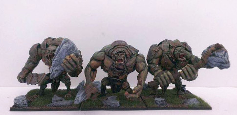 Only three Trolls so far, but if I know Pete this unit will be getting bigger!