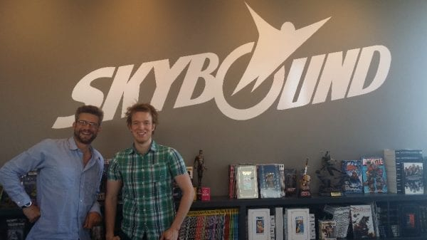 Ronnie at Skybound 1
