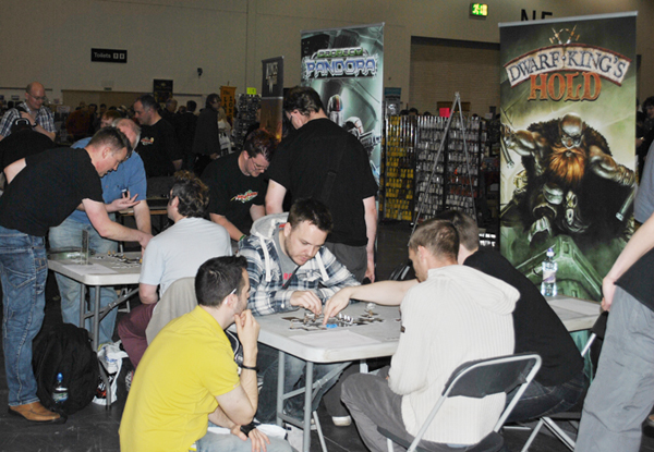 Project Pandora and Dwarf King's Hold by Mantic Games