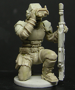 Soldier-Kneeling