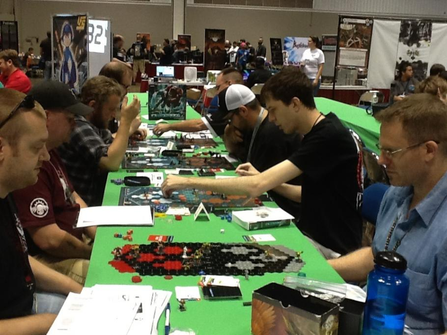 You can find DreadBall being played at clubs, gaming stores and conventions across the world!