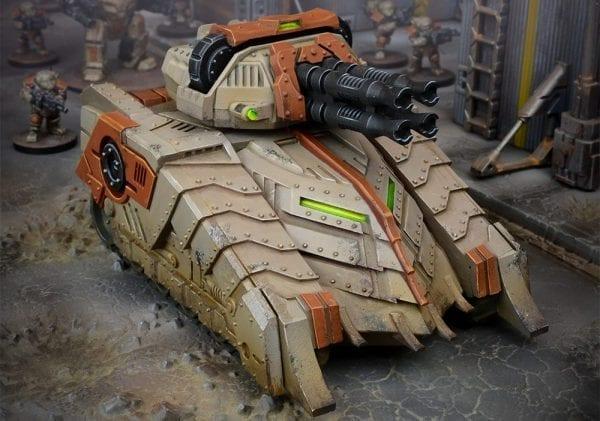 Forge Father Sturnhammer Battel Tank