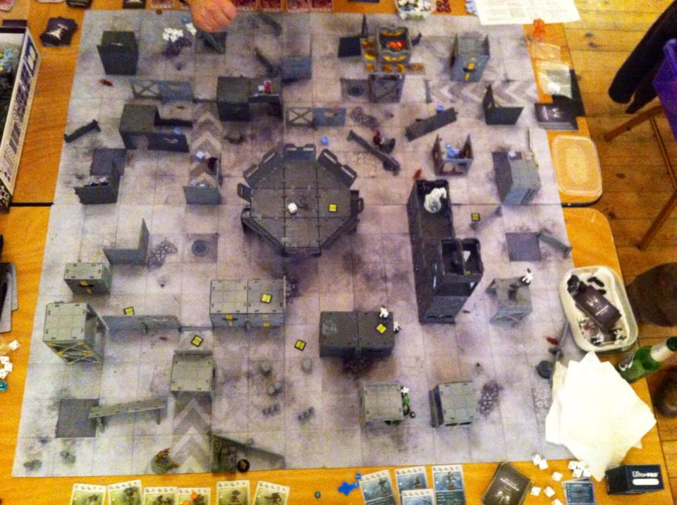 War & Peace recently played host to this massive Deadzone game!