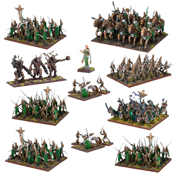 All of this is in the Elf Mega Army.