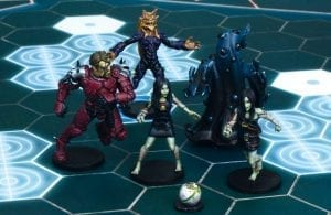 Dreadball All Star Hazard System Heroes MVP Pack