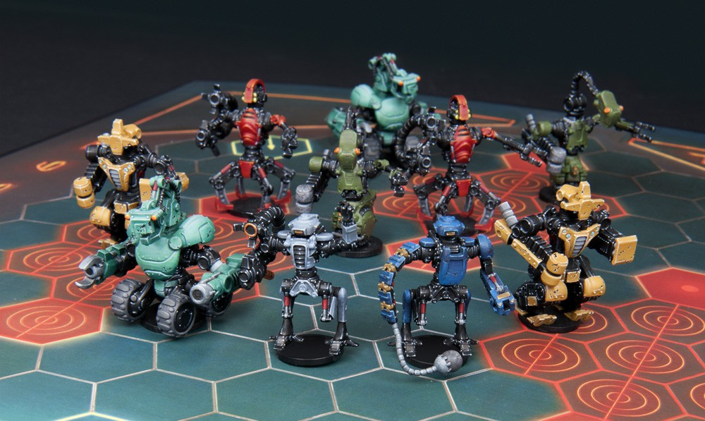 The Ro-Tek Brutes on the rampage!