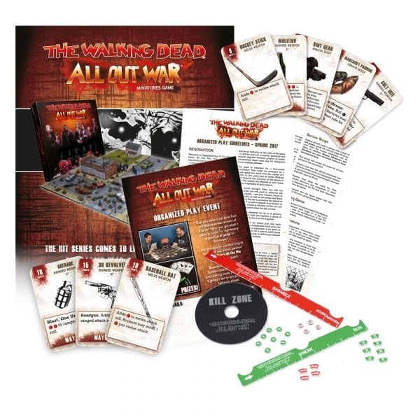 The Walking Dead: All Out War Organized Play Kit