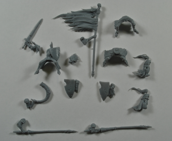Cavalry Rider Components