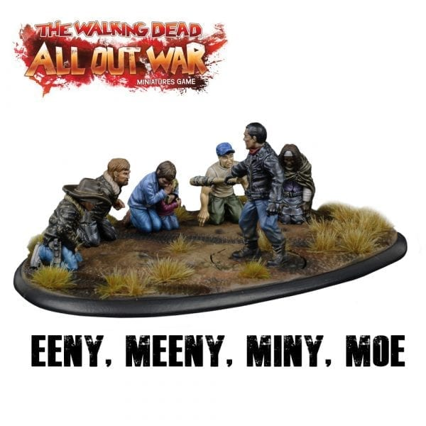 Eeny, Meeny, Miny, Moe diorama