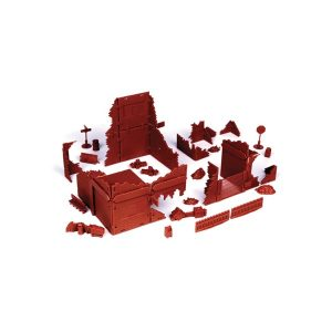 Red Brick Terrain Ruined Village