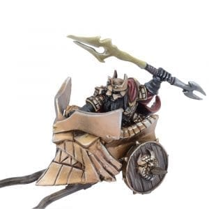 Abyssal Dwarf Slave Driver on Chariot