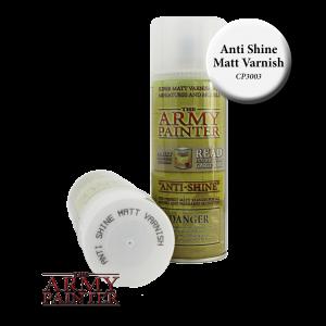 Army Painter Base Primer AntiShine Matt Varnish