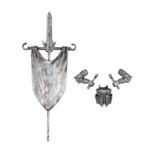 Metal Basilean Men at Arms Command