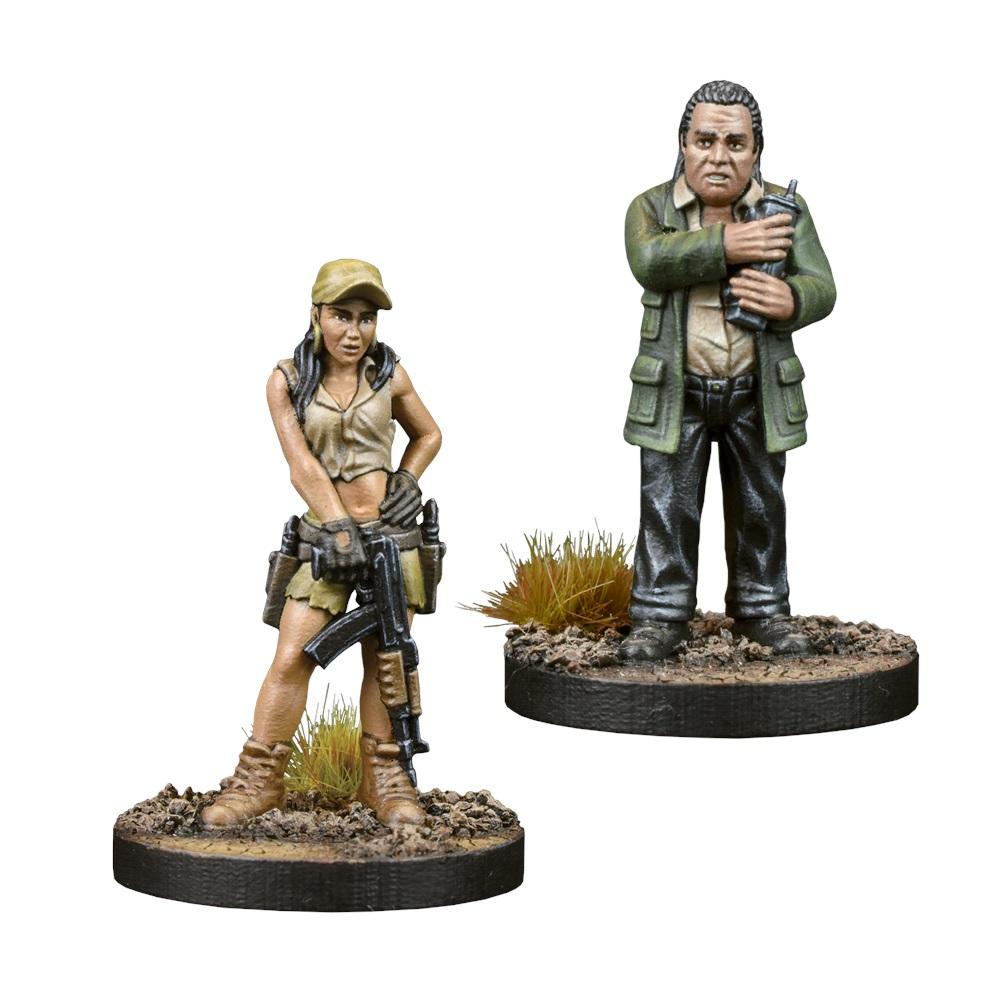 Abraham Booster Walking Dead