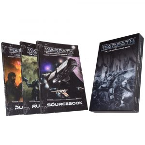 Warpath Rulebooks in slipcase