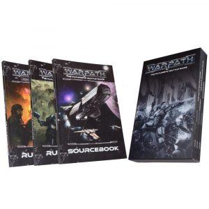 Warpath Rulebooks in slipcase