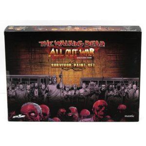 The Walking Dead: Survivor Paint Set
