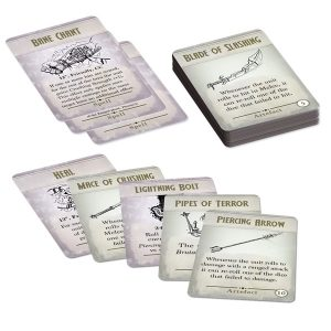 Kings of War 3rd Edition Spell & Artefact Cards