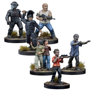 The Walking Dead: Wave Three Retail Exclusives Bundle