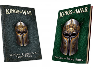 Kings of War 3rd Edition Rulebook bundle