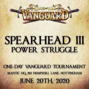 SPEARHEAD III VANGUARD TOURNAMENT