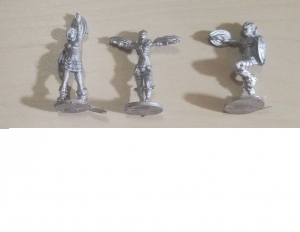 Dreadball Metal cheerleaders