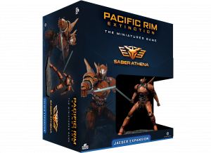 Pacific Rim: Extinction – Saber Athena Jaeger Expansion