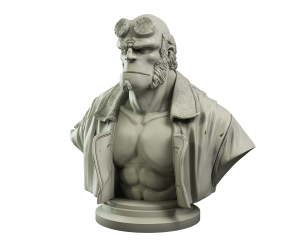 Hellboy Collector's Bust