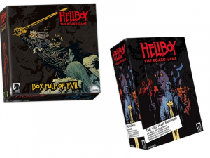 Hellboy Box Full of Evil and Wild hunt