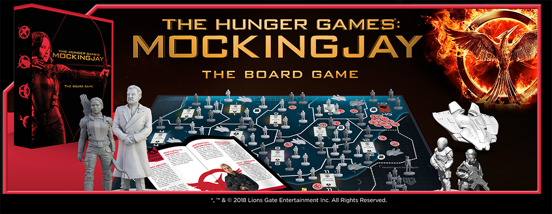 The Hunger Games Mockingjay The Board Game Mantic Games