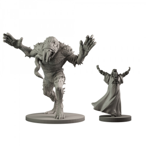 Resin Giant Frog Monster & Rasputin