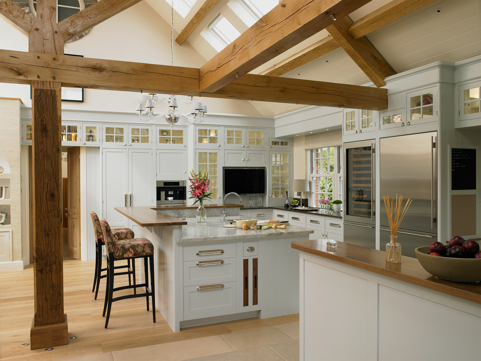 Luxury Bespoke Kitchens - New England Collection | Mark ...