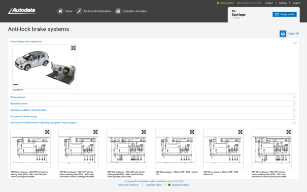 Technical Vehicle Information | Autodata | Australia
