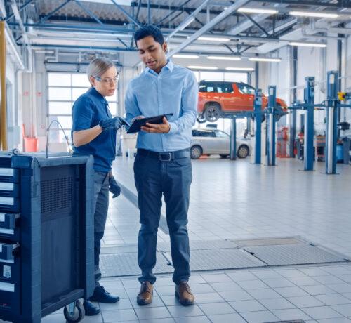 Automotive training for organizations