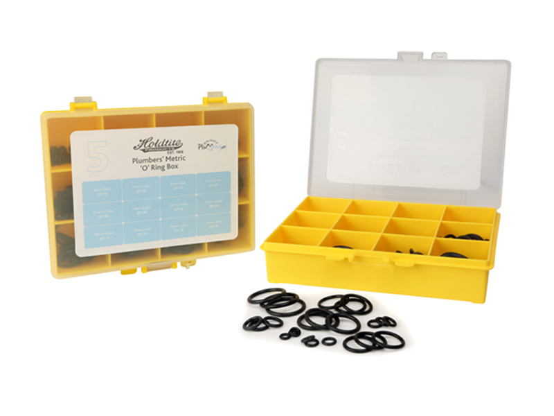No.5 Metric 'O' Ring Plumbers Repair Kit Box