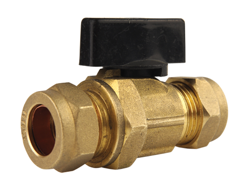 Brass with Handle Isolating Valve