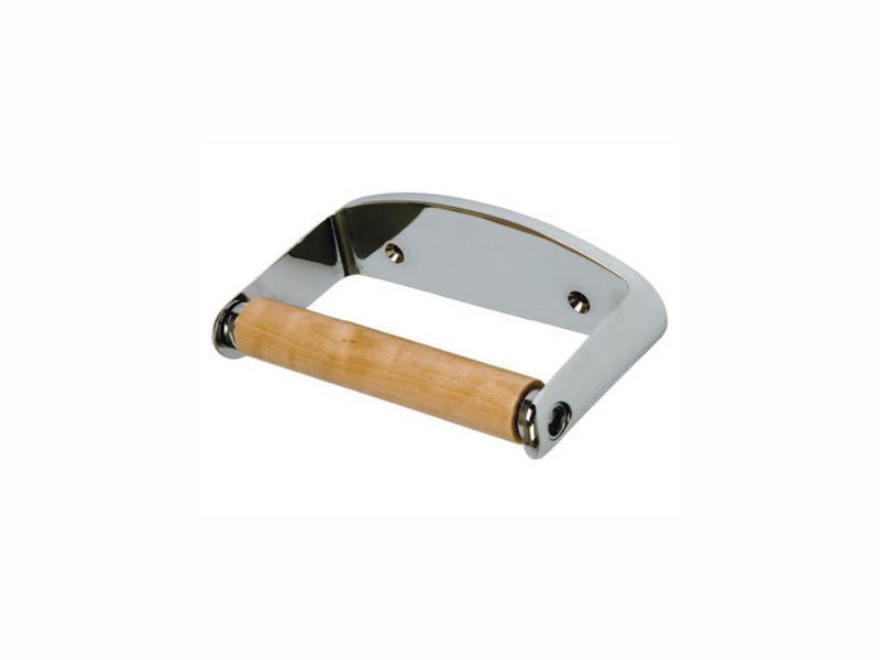 Locking Chrome Toilet Roll Holder