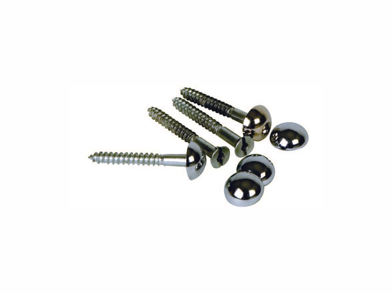 Steel Mirror Screws – with CP dome head