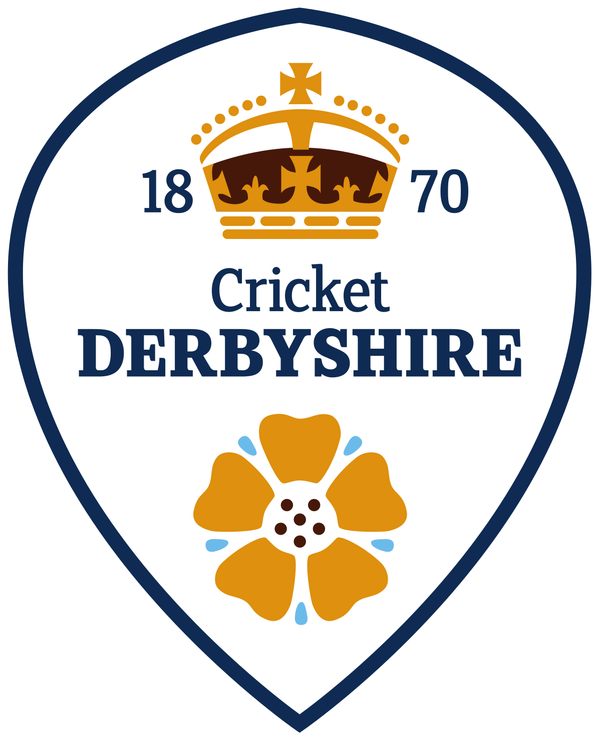 Derbyshire County Cricket Club's logo